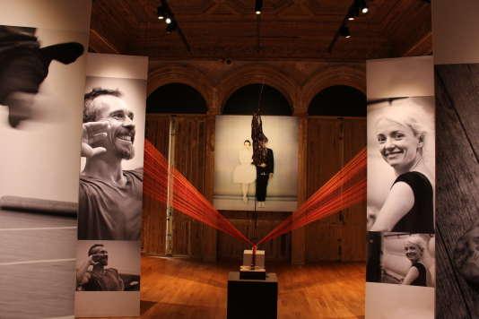 """L'exposition """"Etoiles"""" au centre d'art Elephant Paname, à Paris."""