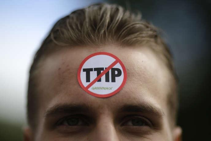 Les réticences allemandes concernant le TTIP sont très fortes. Plusieurs dizaines de milliers de personnes ont défilé dans les rues de Hanovre samedi.
