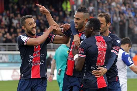 Khalid Boutaïb et les Ajacciens ont obtenu une victoire précieuse dans la perspective du maintien lors du derby corse.
