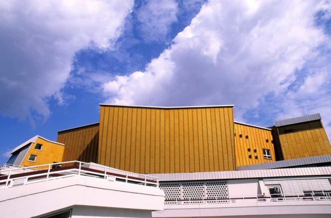 La Philharmonie de Berlin, sur la Potsdamer Platz, a été construite en 1963.