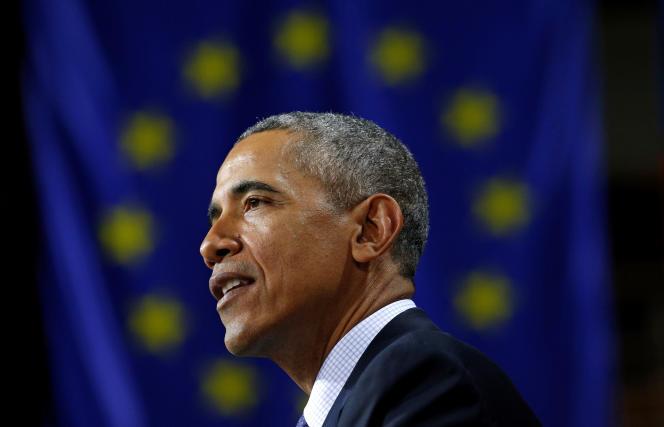 Barack Obama, à Hanovre (Basse-Saxe), le 25 avril.