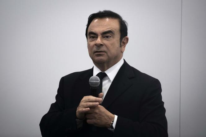 Le PDG de Renault, Carlos Ghosn, le 25 avril 2016.