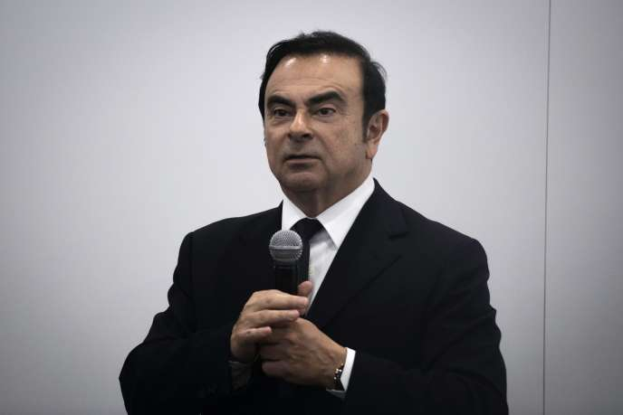 Le PDG de Renault, Carlos Ghosn, le 25 avril 2016.