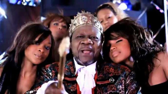 Capture d'écran du clip de Papa Wemba,