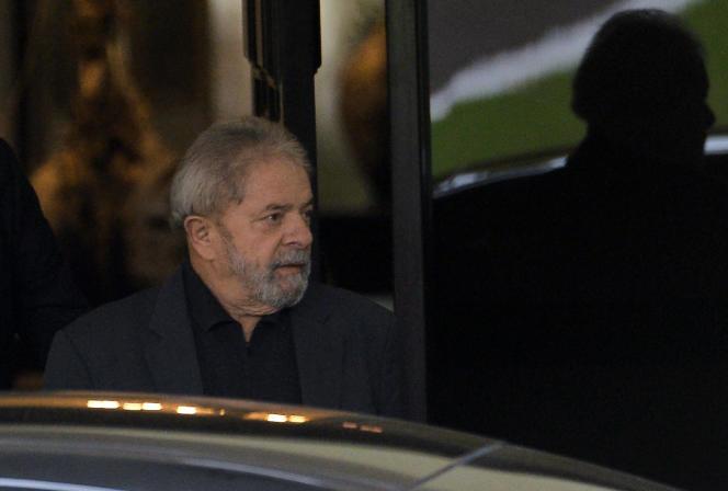 L'ancien président brésilien, Luiz Inacio Lula da Silva, le 26 avril à Brasilia.