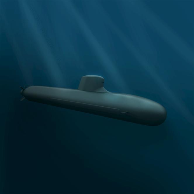 Le modèle de sous-marin Shortfin Barracuda Block 1A, créé par DCNS, remplacera les actuels sous-marins australiens.