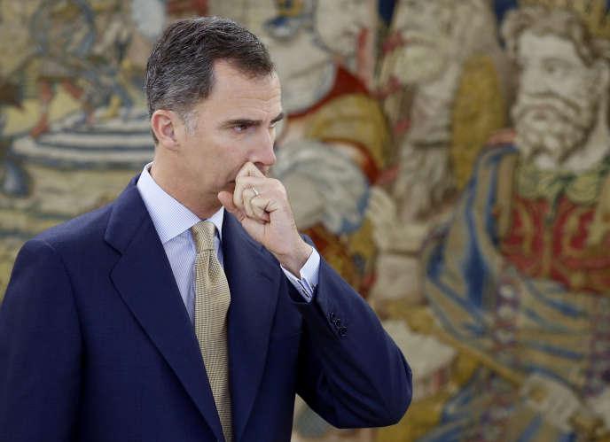 Le roi d'Espagne Felipe VI, le 26 avril.