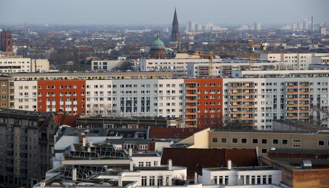 Le quartier berlinois de Kreuzberg, en mars.