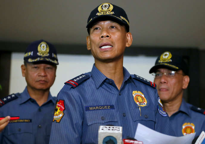 Ricardo Marquez, le directeur de la police nationale des Philippines, le 26avril.
