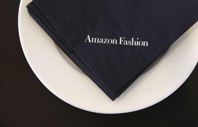 Dans le Fashion Photography Studio d'Amazon, dans l'est de Londres, le 23 juillet 2015.