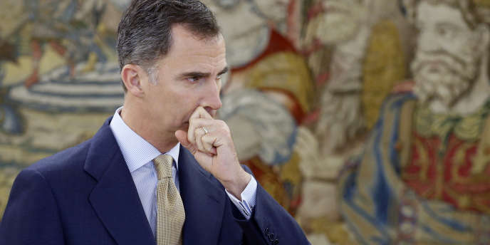 Felipe VI, le roi d'Espagne, le 26 avril.