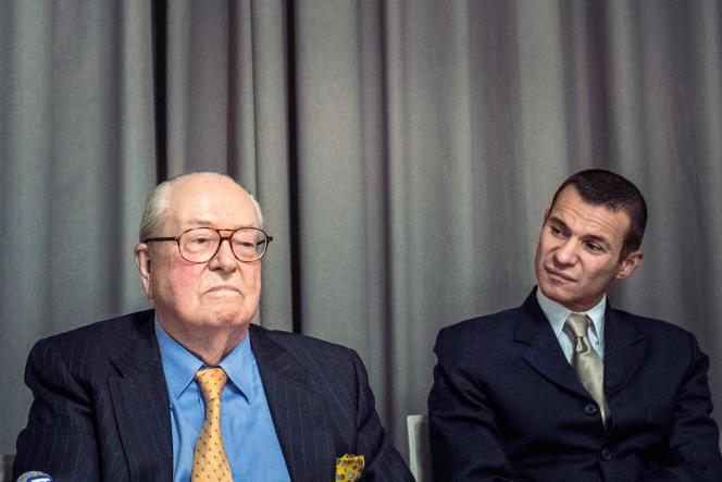 Gérald Gérin et son mentor, en janvier 2014.