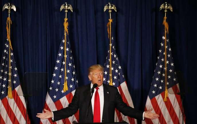DonaldTrump estime que la politique étrangère américaine est dépourvue de boussole depuis la fin de la guerre froide.