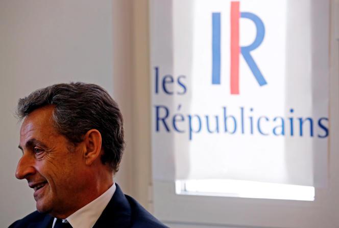 Nicolas Sarkozy, le 27 avril à Marseille.