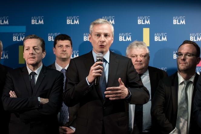 Bruno Le Maire, le 27 avril à Paris.
