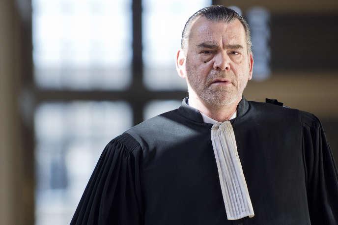 L'avocat Frank Berton, le 3 juin 2016 à Rennes.