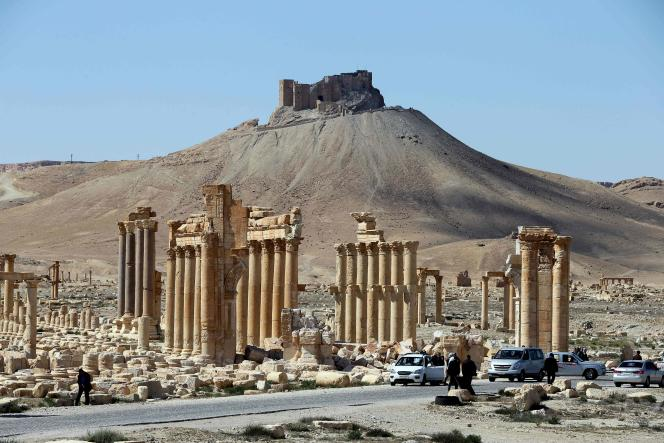 Palmyre en mars 2016.