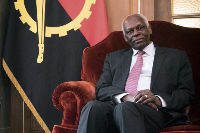 Le président angolais, José Eduardo dos Santos, en avril 2016, à Luanda.