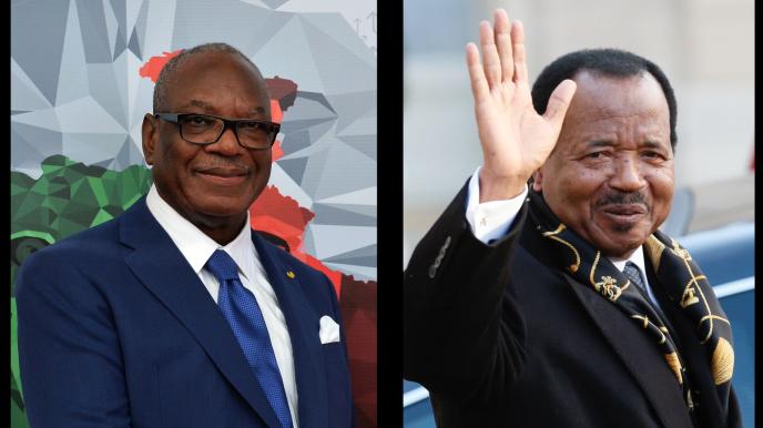 Le président malien, Ibrahim Boubacar Keïta, et son homologue camerounais, Paul Biya, patients des hôpitaux européens.