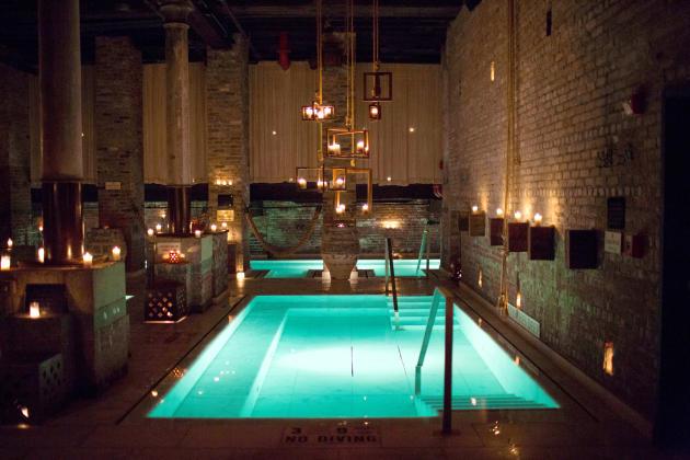 Aire Ancient Baths à TriBeCa.