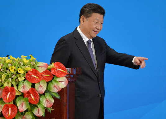 Xi Jinping à Pékin, le 28 avril 2016.