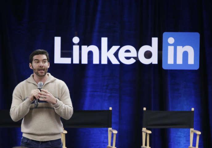 Le PDG de LinkedIn, Jeff Weiner, le 28 avril 2016.