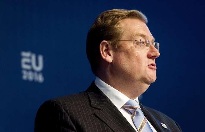 Le ministre de la sécurité et de la justice néerlandais Ard van der Steur, le 28 avril 2016.