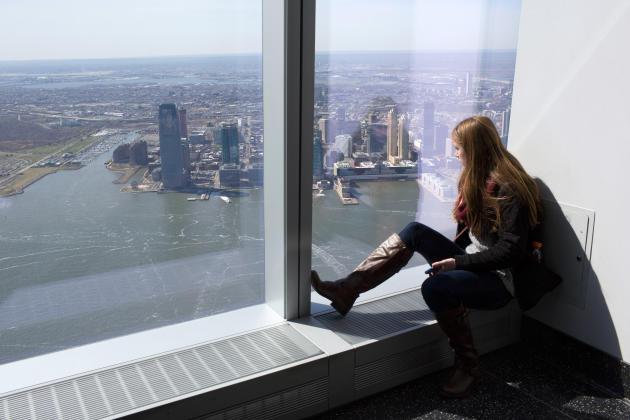 L'observatoire du World Trade Center.