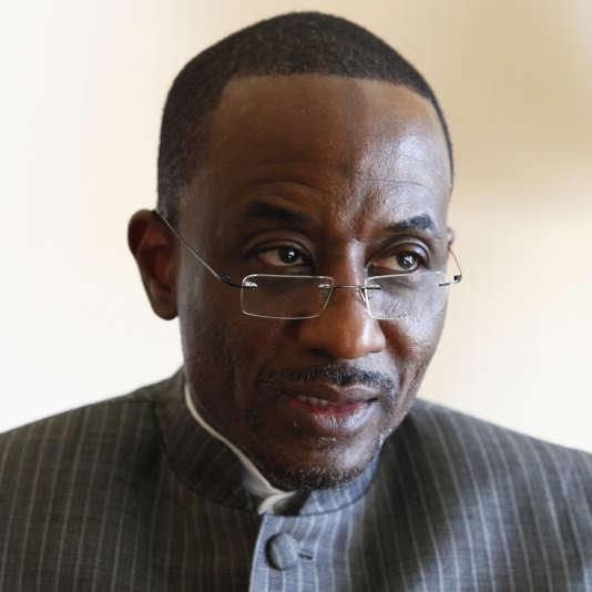 Lamido Sanusi, alors gouverneur de la Banque centrale du Nigeria, à New York, en avril  2012.