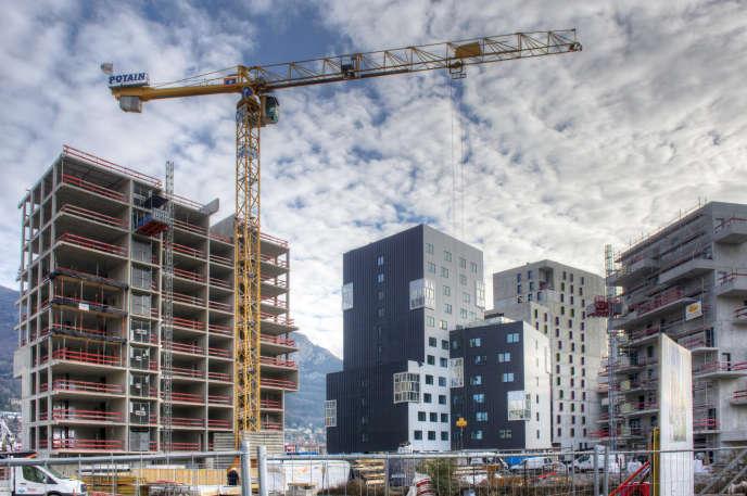 Construction de logements à Grenoble