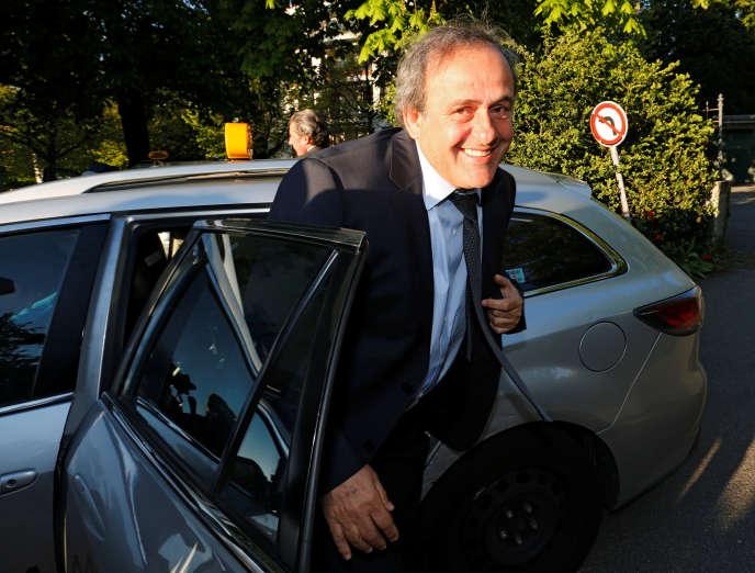Michel Platini, en avril 2016.