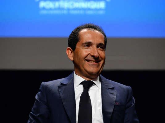 Patrick Drahi, président du groupe Altice, a injecté environ 90millions d'euros dans le groupe Express-Roularta