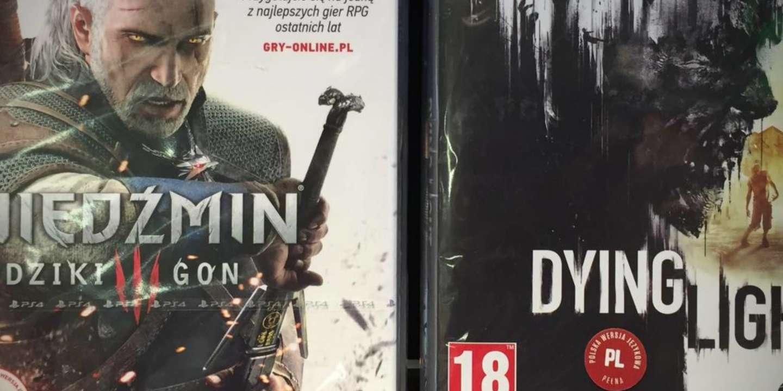 The Witcher et Dying Light, deux des plus connus des jeux polonais.