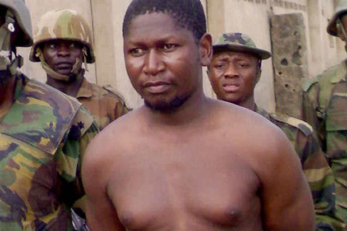 Mohammed Yusuf, 39 ans, arrêté par les forces de l'ordre du Nigeria, le 30 juillet 2009 à Maiduguri.