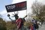 «La négociation va connaître désormais une pause électorale. Une administration républicaine signifierait la fin définitive du projet» (Photo: manifestation contre le TTIP à Hanovre, en Allemagne, le 23 avril).