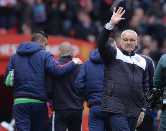 Claudio Ranieri, le 1er mai, à Manchester.