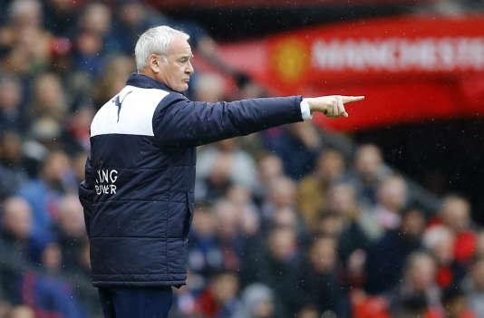Claudio Ranieri, le 1er mai à Manchester.