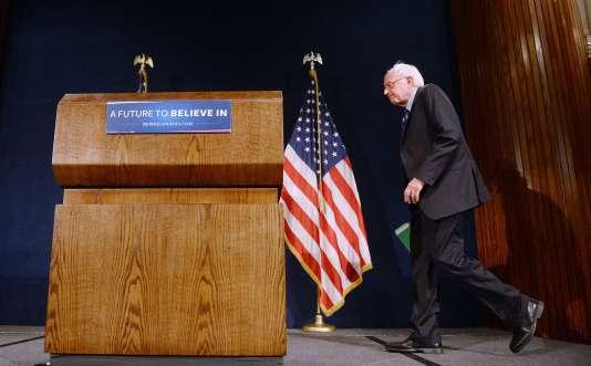 « Nous avons l'intention de lutter pour chaque vote et chaque délégué restant », a assuré Bernie Sanders devant le National Press Club, le 1ermai.