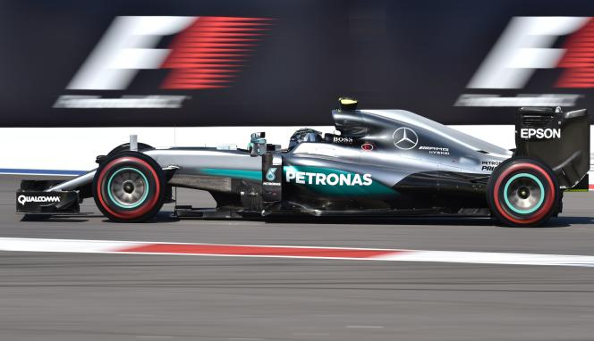 Nico Rosberg, le 1er mai à Sotchi.