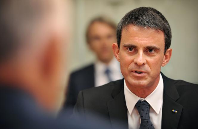 Manuel Valls, le 2 mai.