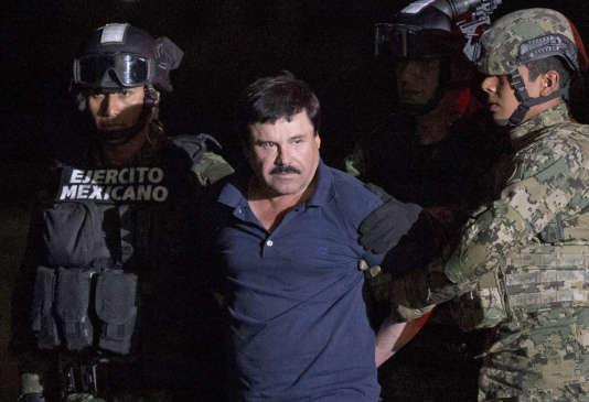 Joaquin Guzma, le 8 janvier 2016 à Mexico.