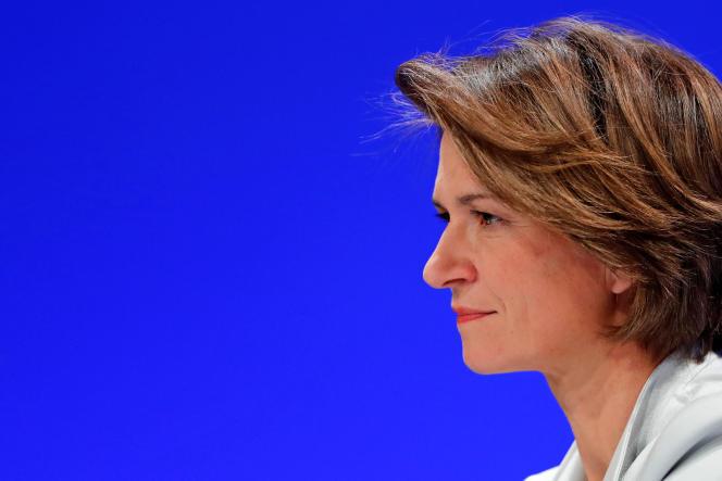 Isabelle Kocher, directrice générale d'Engie le 3 Mai à Paris.