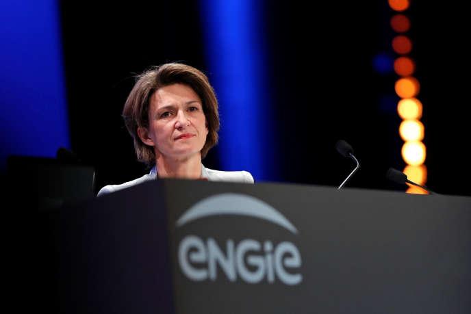 La PDG d'EngieIsabelle Kocher, en mai 2016.