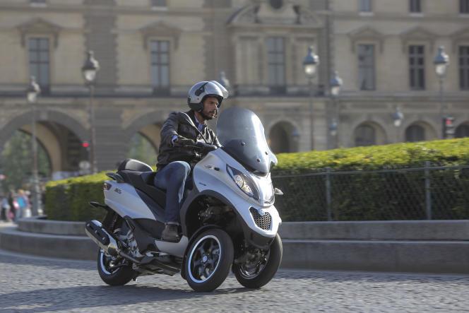 Le Piaggio MP3 est le scooter le plus vendu en France depuis 2009.