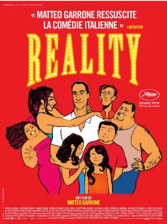 L'affiche de «Reality», film de Matteo Garrone (2012).