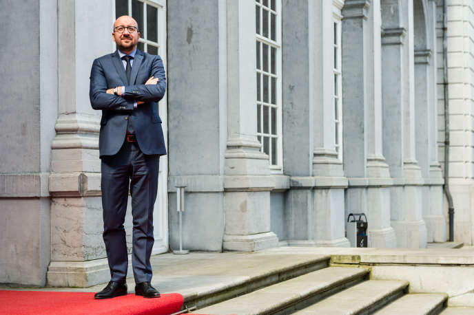 Charles Michel, le premier ministre belge, le 3 mai 2016.