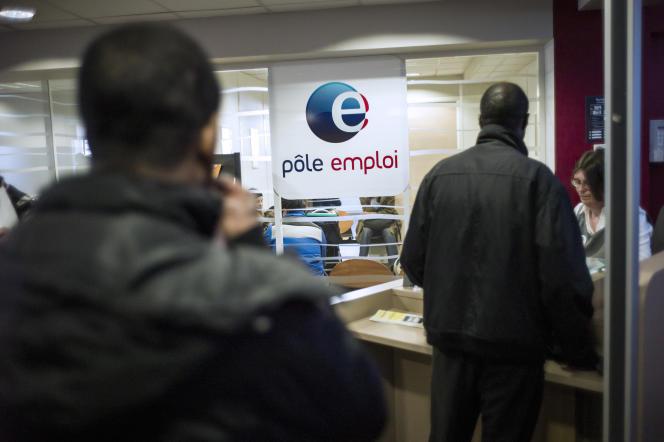 Un bureau de Pole Emploi, en banlieue parisienne, le 25 mars 2013.