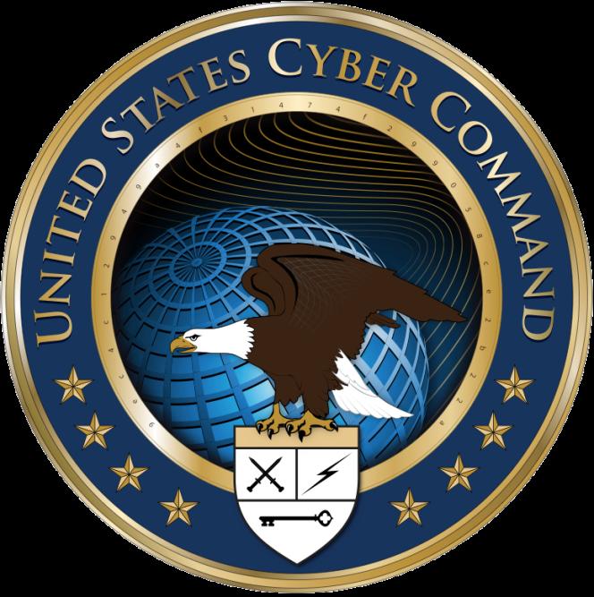 L'insigne du Cybercommand.