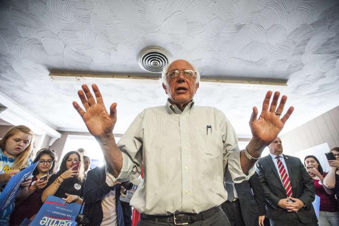 «Nous allons rester jusqu'au décompte du dernier vote, c'est-à-dire lors de la primaire démocrate de Washington, DC », a déclaré Bernie Sanders à NPR.