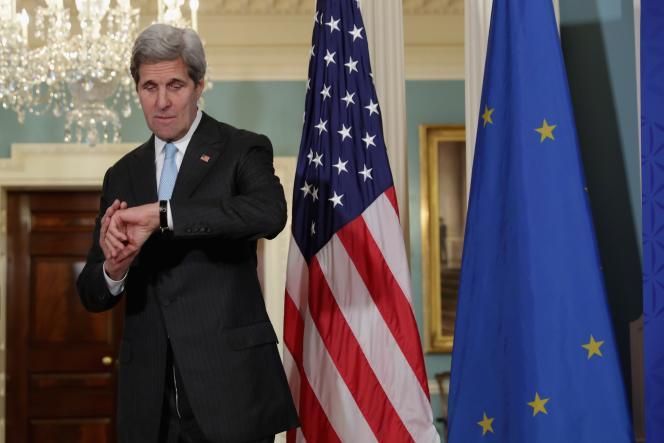 Le secrétaire d'Etat américain, John Kerry, le 4 mai, à Washington.